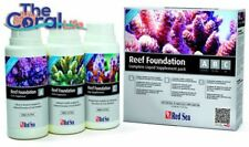 RED SEA REEF FOUNDATION ABC COMPLETE LIQUID SUPPLEMENT KIT - 3X 250ML