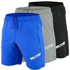 FDX MEN'S ACTIVE DRY GYM, BODYBUILDING, TRAINING, RUNNING, SHORTS,WORKOUT PANTS