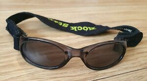 Baby Rockstar Sunglasses Age 0-2 Years. Adjustable band. UV 400. Used.