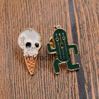 Enamel Shirt Collar Lapel Pin Brooch Pin Breastpin Women Fashion Jewelry Gifts