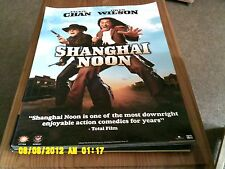 Shanghai Noon (jackie chan, owen wilson) Movie Poster A2