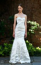 NICOLE MILLER COURTNEY TECHNO METAL BRIDAL WEDDING GOWN DRESS ID0002 4 $1795
