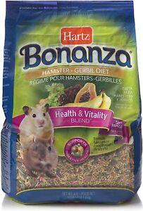 Hartz Bonanza Health & Vitality Blend Hamster & Gerbil Food - 4Lb