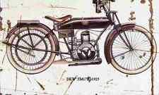 Dkw ZM175 1925 aged vintage signe A3 grand rétro