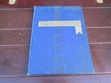 Trumpeter 1945 YEARBOOK of the Manor Township and Millersville Boro High School