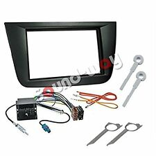 Double Din car stereo Radio fascia adapter Installation Kit for Seat Altea / XL