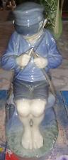 Royal Copenhagen Porcelain Figurine #905 Boy whittling stick Flawless condition