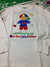 Little Brother Long Sleeve Holding Toy Train T-Shirt  Size Small
