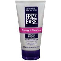 John Frieda Frizz Ease Straight Fixation Styling Creme, 5 Ounces