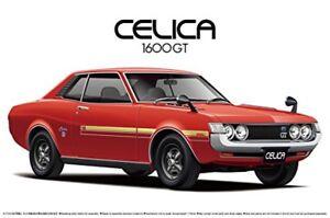 Aoshima 53188 The Model Car 36 Toyota TA22 Celica 1600GT '72 1/24 scale kit New