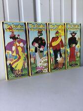 Set of 4 Sealed Nib 1999 The Beatles Yellow Submarine Model Kit Polar Lights