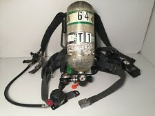 Msa Firehawk Harness with 4500psi Scba Cylinder & Ultra Elite Mask (S, M, or L)