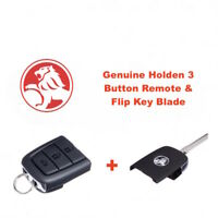 Genuine HOLDEN VE Commodore Sedan Complete Flip Key & 3 Button Remote-Free Post