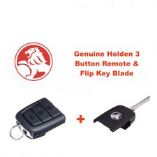 Genuine HOLDEN VE Commodore Sedan Complete Flip Key & 3 Button Remote-Free Post