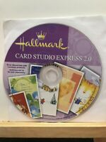 Pre-owned ~ Hallmark Card Studio Express 2.0 Computer Software CD-ROM 2007