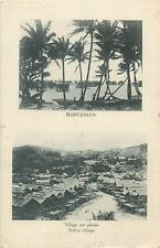 New Caledonia Papua New Guinea HANUABADA native village on stilts Oceania