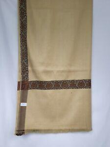 yemeni arab kashmiri  shawl shemagh scarf mens sufi headscarf shia soft brown