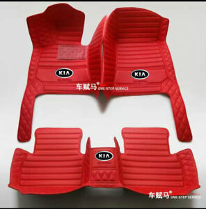 For kia-Forte-Niro-Optima-Rio-Sorento-Soul-Stinger-Sportage-Niro-Car Floor Mats