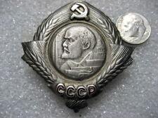.Russia Soviet Union Badge V.Lenin,screw back