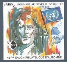 Bloc Cnep N°21 Neuf ** Général de Gaulle 1995