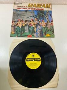 The Magic Of Hawaii Kana Kapiolani & His Hawaiians Vinyl Album 1972