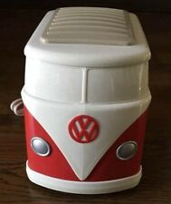 Toaster Red Volkswagen Original Limited VW Mini Bus Unused Free Shipping Japan