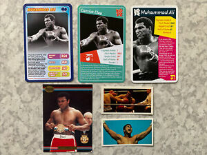 Lot Of 6 Muhammad Ali Cassius Clay Olympic Top Trumps Rookie Cards