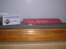 "LIFE-LIKE/Proto 2000 #21462  C.B.& Q.. 52'6"" Mill Gondola Car #82029 Weath. 1/87"