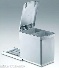 empotrable recolectores de residuos Wesco 2x7, 5 Litros auszugs-mülleimer