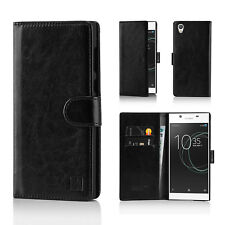 32nd Book Wallet PU Leather Case Cover for Sony Xperia Z2 Mobile Phone - B