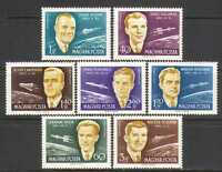 Hungary 1962 Space/Astronauts/Rockets 7v set (n24045)