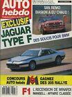 AUTO HEBDO n°698 du 18 Octobre 1989 SAN REMO JAGUAR XJ 4.0 FORD FIESTA XR2i