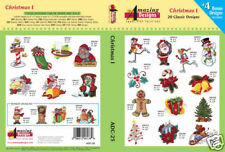 Amazing Designs Embroidery CD- Christmas I + FREE GIFT