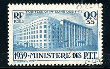 STAMP / TIMBRE FRANCE OBLITERE N° 424 PARIS LE MINISTERE DES P.T.T.
