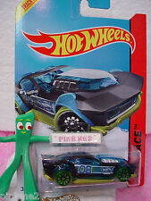Case F/G 2014 i Hot Wheels DRIFT ROD #173☆Blue & Black w/10sp green; 8☆X-Raycers