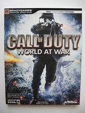 Call of Duty World at War Lösungsbuch, Bradygames, Zustand sehr gut