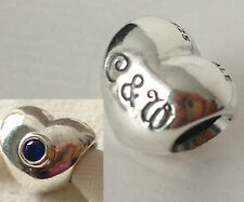 Genuine Pandora Royal Wedding Charm 790875SSB Retired Rare! William And Kate.
