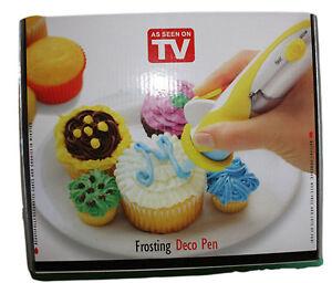 Icing Decorating Pen, Battery Operated, Sugarcraft, Cake Decorating, Kids Baking