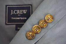 J. Crew Thompson Light Blue 2018 100% Cotton 2 Pc Suit Jacket Pants Sz 36R