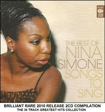 Nina Simone - Very Best Greatest Hits Collection - RARE 2010 2CD Jazz Blues 60's