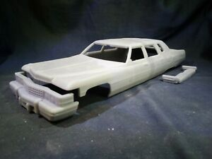 1/24 resin 3D printed 1974 Cadillac Fleetwood series 75 limo body kit (one off)