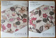 2 Garnituren Flanell Estella 135 x 200 Samt &Seide  Winterbettwäsche bunt