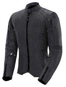 Womens Motorbike Cordura Jacket Ladies Motorcycle Waterproof Armoured Biker Top