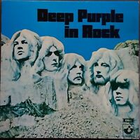 Deep Purple - In Rock. 1971 New Zealand Issue LP With Unique Back Cover. M- / M-