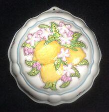 Franklin Mint 1986 Le Cordon Bleu Lemons Decorative Kitchen Mold