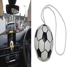 CAR Mini Rear View Mirror Hanging Stuffed FOOTBALL Hanger Gift Accessory New