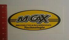 Aufkleber/Sticker: M Cax Motor Cycle Accessoires Technologie (171016106)