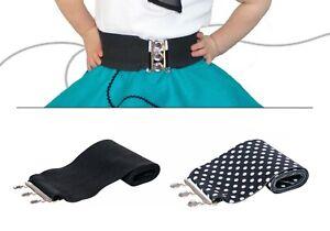 "1950s 2.5"" Toddler Cinch Belt (Sock Hop Poodle Skirt Costume Party Accessory)"
