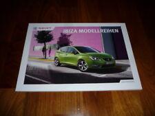 Seat Ibiza Prospekt 10/2012