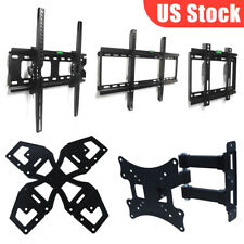 "TV Wall Mount Stand Plasma Flat LCD LED Tilt Swivel Bracket For 10''-70"" Inch US"